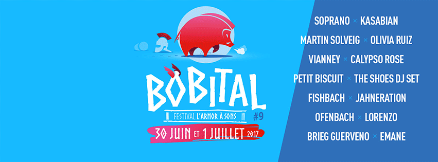 Affiche du festival Bobital 2017